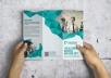 show The best trendy professional Indesign Brochure