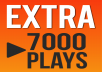 Do Professional Soundcloud Promotion 7000 Plays EXTRA Offer