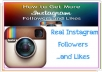 add 1000 instagram followers or 4000+ Instagram likes to make you popular on Instagram