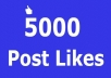 give you 5,000 Facebook post likes