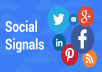 Provide You 1002 + Linkedin Share OR 110 Google Plus Social Signals
