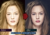 do photo retouching and enhancements with Photoshop