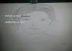 draw you a realy beautiful portrait whit pencil white and black