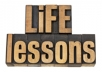tell you exactly what your life lessons are