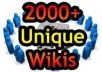 create MASSIVE 2000+ Unique Wiki Backlinks and Lindexing