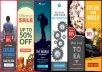 design 6 static web banner ads for you
