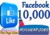 give you 10,000 Real Active Nondrop High Quality facebook page likes