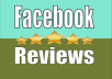 give you Facebook Page 200+ Reviews 5 star Rating