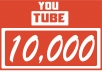 give 10,000+ YouTube Views Lifetime guarantee in 48 Hrs! -Great Service – Fast Delivery – High Quality – 100% SAFE!