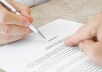 draft the contract or agreement for your business needs