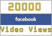 add 20,000 facebook video views