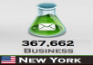 give 367,662 Nueva York (USA) Business with emails