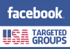 provide 15 USA Targeted Facebook Groups