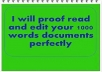 proofread and edit 1,000 words in 24 hours