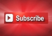 promote 50 high quality YouTube Subscribe in 3hrs no drop,no bots