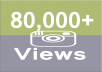 Get Fast 80,000+ Instagram Video Views Real-Instant
