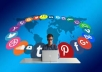 Submit Website, Blog,Video Manually To 30 Social Bookmarking Sites Pr 4 To 9