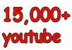 give you 15,000 YouTube REAL views