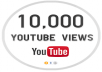 i will give 10,000 super high quality YouTube Views real and permanent 