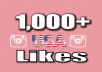 I will give 1,000+ USA Instagram Photo/Post LIKES 100% Safe of your profile. Guaranteed Permanent LIKES NO ROBOTS There is no risk for your account to get banned for that! You should not worry at all! NO need of Password - need your profile link or username. I will add 6000 instagram post likes (You can send up to 5 photo links) Expected delivery from 4 hours up to max 1 days . Best And Fast Results Satisfaction Guaranteed Full support (24/7)