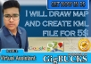 draw map and create KML file for google maps