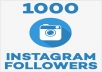 add 1000 NONDROP instagram followers or 3000 post likes