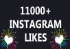 send 11000 Instagram likes - BEST OFFER