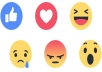 I provide you 2000 Facebook Emoticons Post _ photo _ Likes All likes worldwide and 100% real people   Super fast speed work done with in few hours   You have the freedom of choice :  OPTION -- 1 -- (Like)  OPTION -- 2 -- (Love)  OPTION -- 3 -- (Haha)  OPTION -- 4 -- (Wow)  OPTION -- 5 -- (Sad)  OPTION -- 6 -- (Angry)