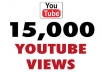 add Fast 15,000 High Quality Youtube views