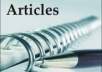 write articles or essays on any topics