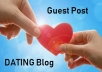 Do Guest Post on Quality Dating Blog
