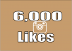 add stable 6,000 photo/post likes in 5 hours