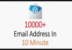 Extract 10,000 Emails For Target Marketing