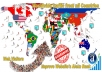 Send 25.000 worldwide website traffic visitors from all countries