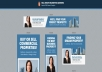 design attractive animated or static banner ads