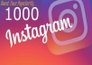 add 1000 Instagram Followers of best quality instantly to your Instagram account