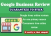 BUILDING YOUR LOCAL BUSINESS CREDIBILITY by Adding 2 Google Reviews