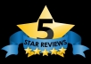 Provide 10 Five Star Ratings, Reviews For Your Android App