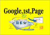 Rank You In Google 1st Page Safely.