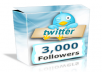 Congratulations All my good and Most Interested BuyersI Started work again for twitter followers i request you to add orders instantly without waiting and wasting timei will add 3,000+ high Quality twitter followers for 40 days refill guaranteed High Quality Twitter followersNot using any kind of bots etc Guaranteed.Thanks and waiting for your Instant Orders