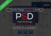 Design PSD Website Templates