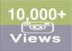 Provide you Fast 10,000+ Instagram Video Views