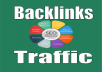 BEST OFFER...  Provide you HQ 1,800 Backlinks and 50,000 Traffic Your Website OR Blog   Increase traffic to your site/blog  Verified Backlinks  Always over deliver  More authority and rankings for any type of website,   100% Money Back Guarantee