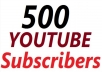 Add for You 500+ Real Subscribers  Order Now