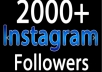 Give you Real 1000 Instagram Followers