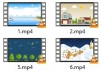 give 50 Animated Video Background mp4 videos