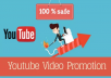 do viral youtube video promotion for your video