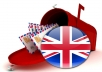 Provide 1500000 Email List Of UK Database Leads For Marketing And Consumers