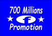 Great service::: 700 Million groups/fan+ 88000 friends huge Facebook promoting exposure and blast Advertising and marketing deal very powerful and effective way.. You can get more views. 100% Guaranteed. Y. People will know it Just by one message. You know this is big part of social media networking & Social media marketing. I can not supply Live Screen Shots.