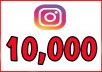 Will Give you 10k Instagram Followers. All followers are 100% real and active. Delivery could take 1-4 days but most time it si done in couple hours depends how many orders are in que.